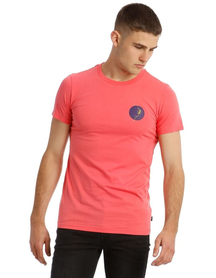 Pitch Neon Placement Print Tee image 1