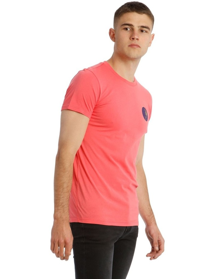 Pitch Neon Placement Print Tee image 2