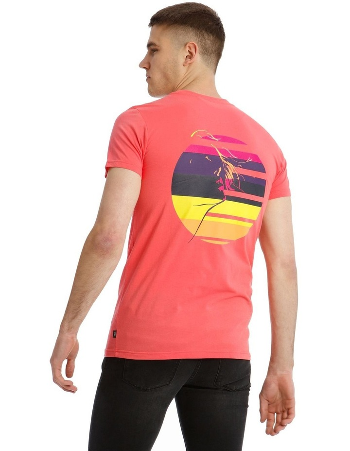 Pitch Neon Placement Print Tee image 3