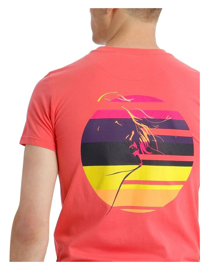 Pitch Neon Placement Print Tee image 4