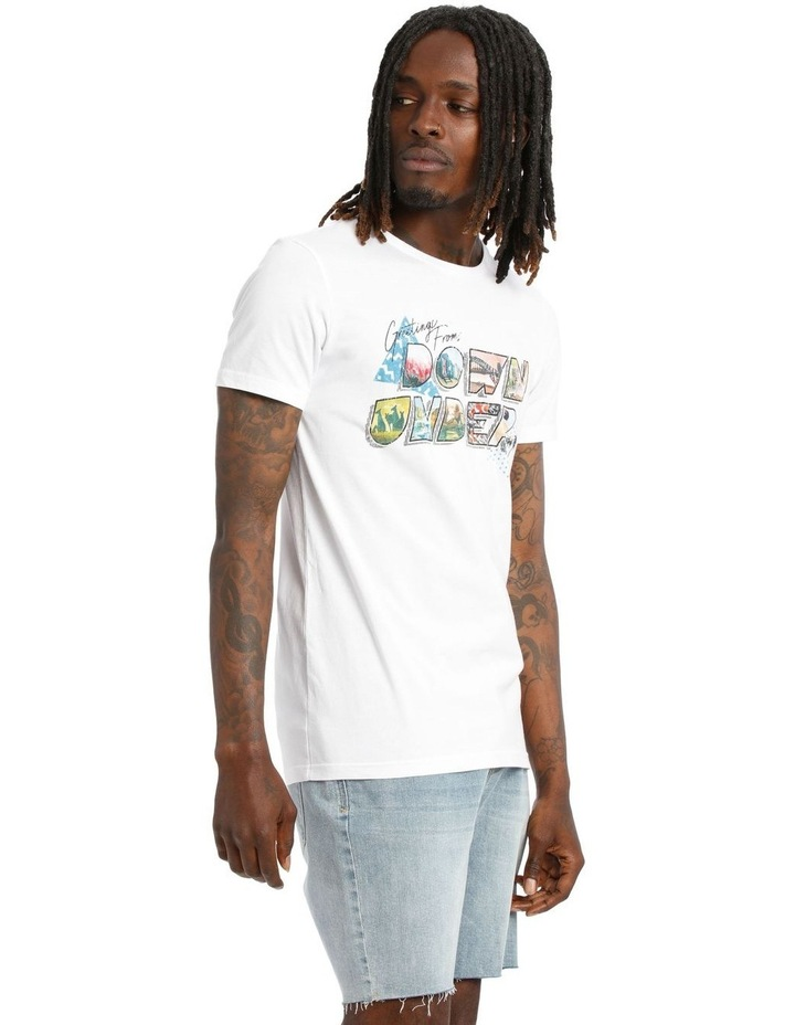 Down Under Placement Print Tee image 2