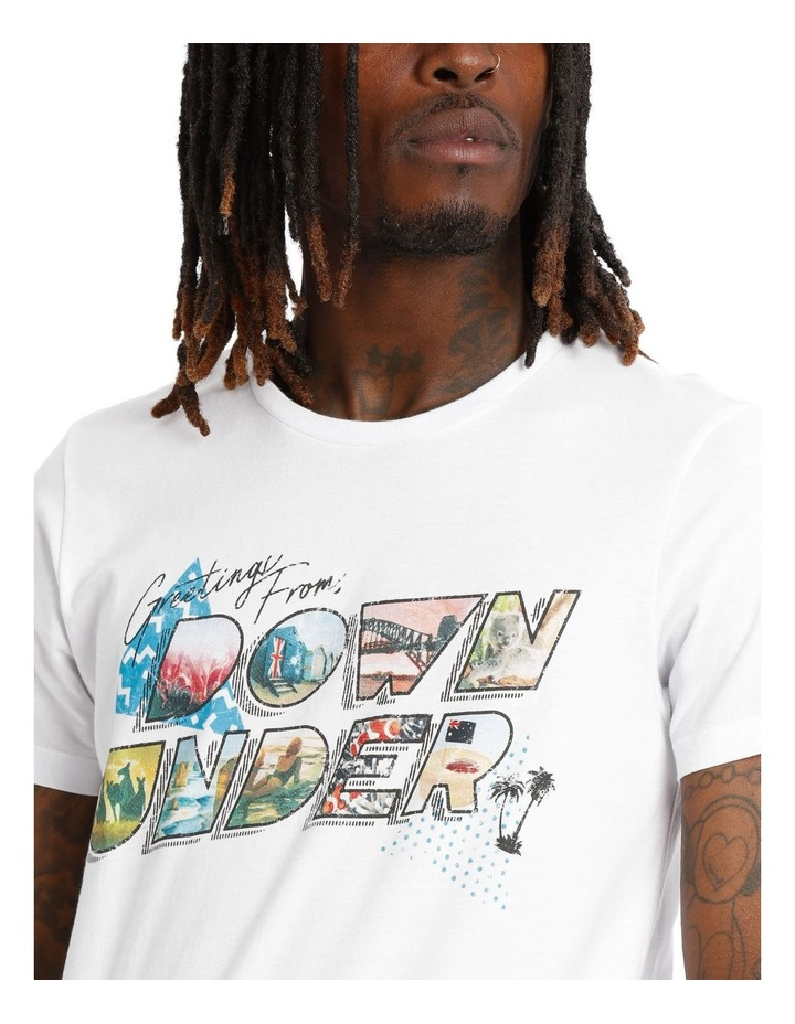 Down Under Placement Print Tee image 4