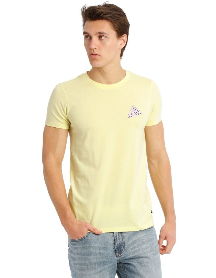 Golden Triangle Placement Print Tee image 1