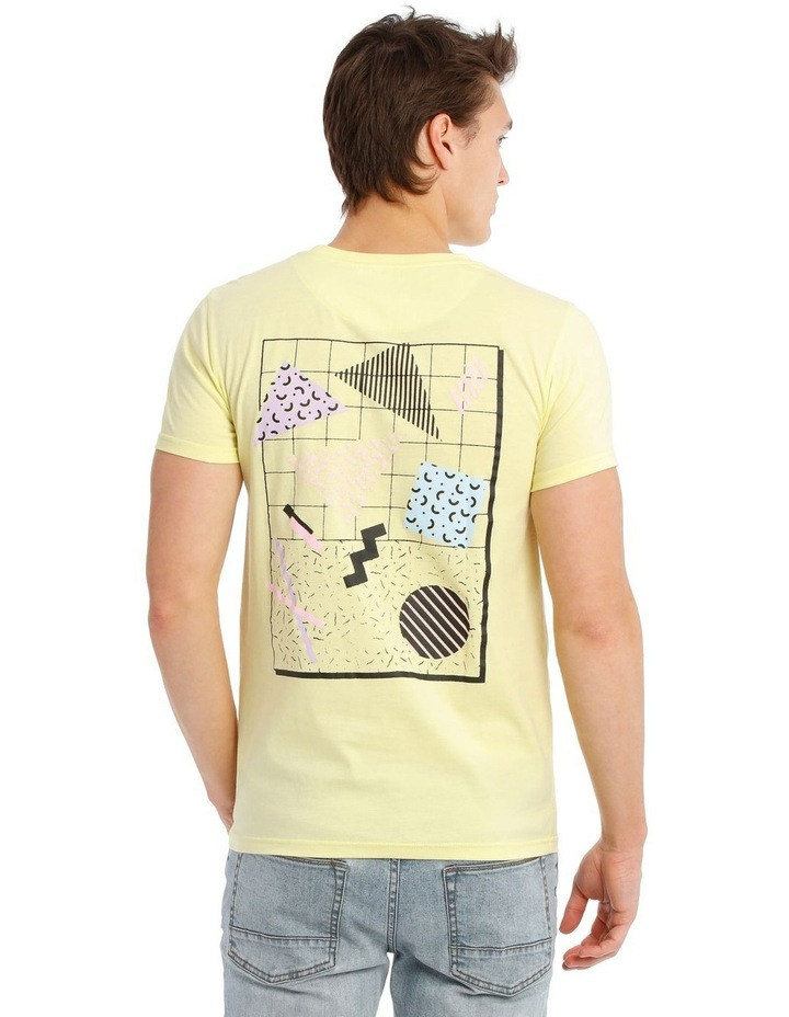 Golden Triangle Placement Print Tee image 3