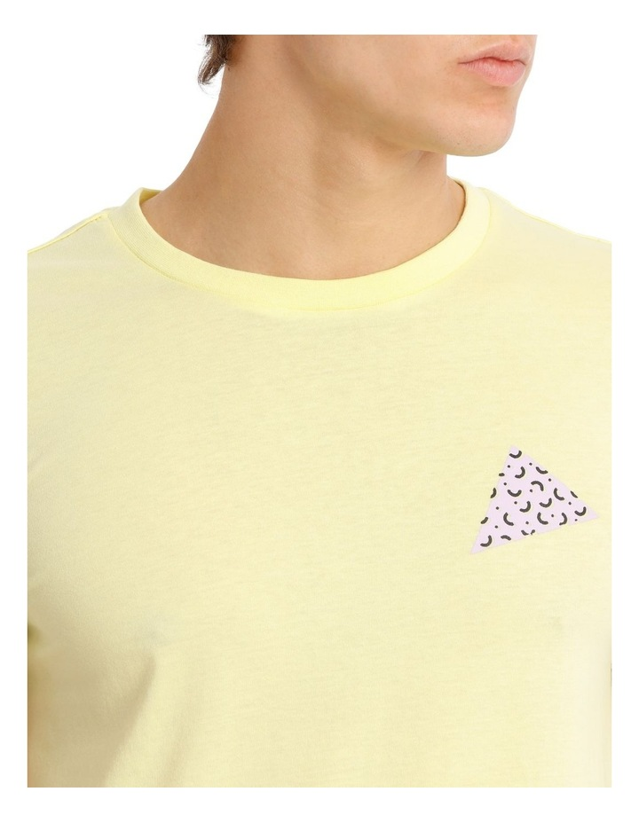 Golden Triangle Placement Print Tee image 4