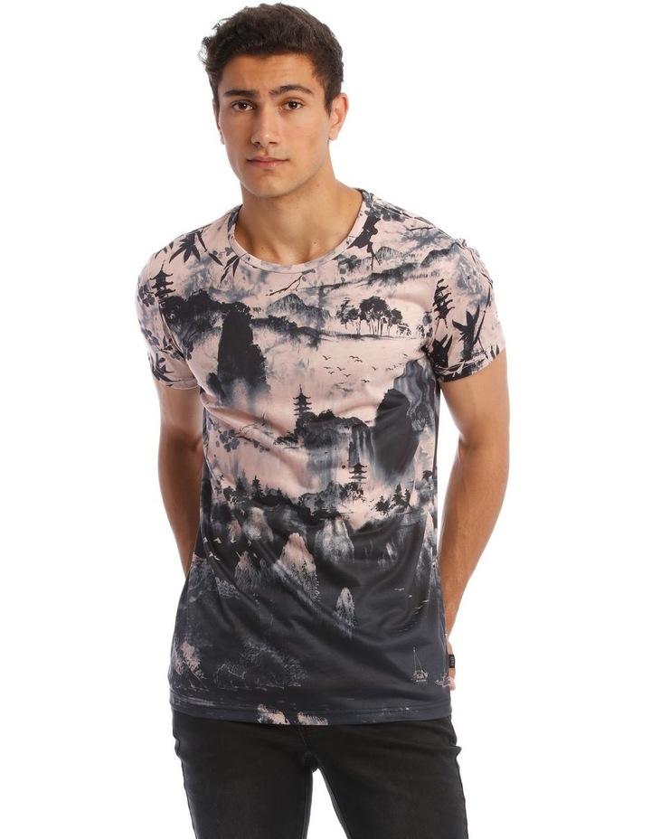 Kusaka Sublimated Print T-Shirt image 1