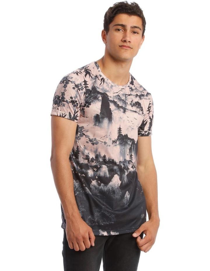 Kusaka Sublimated Print T-Shirt image 2