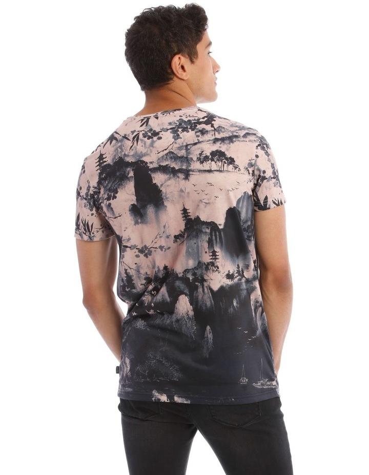 Kusaka Sublimated Print T-Shirt image 3