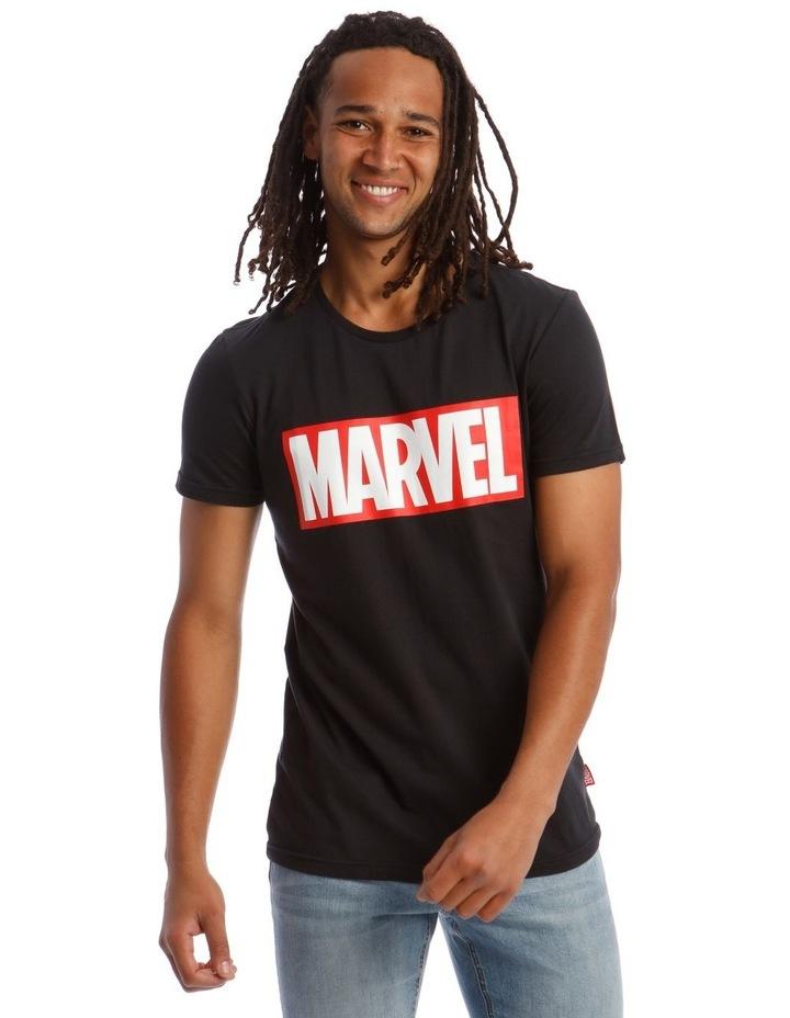 Marvel Red Brick Logo Tee image 1