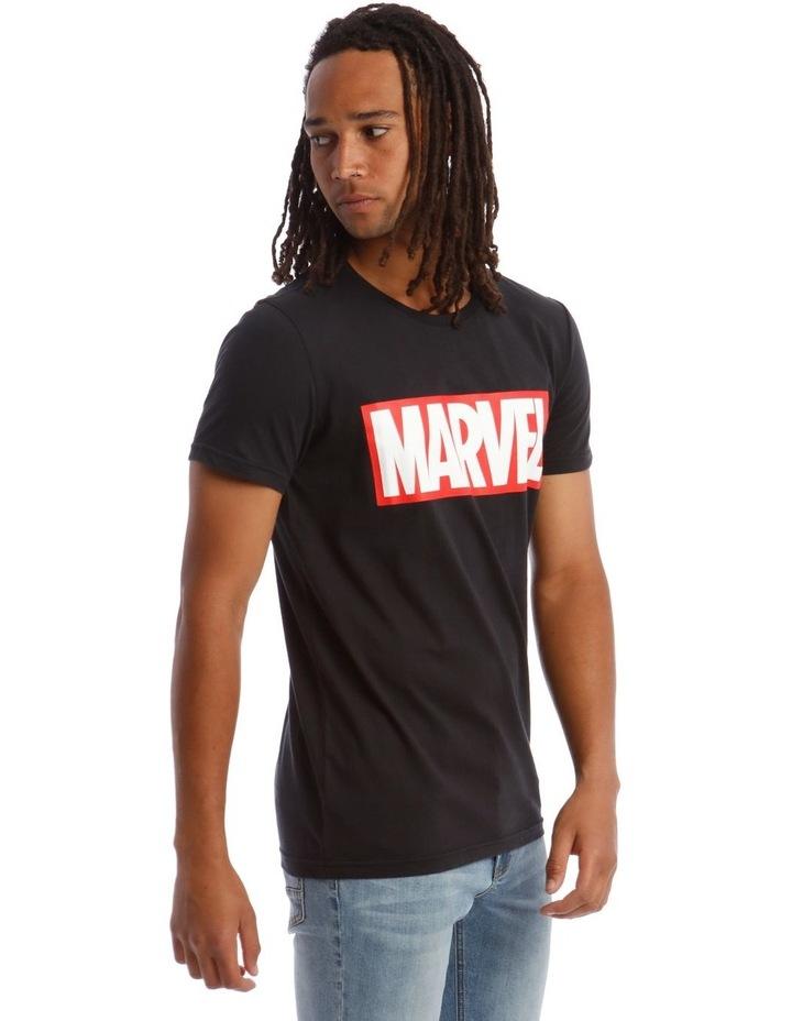 Marvel Red Brick Logo Tee image 2