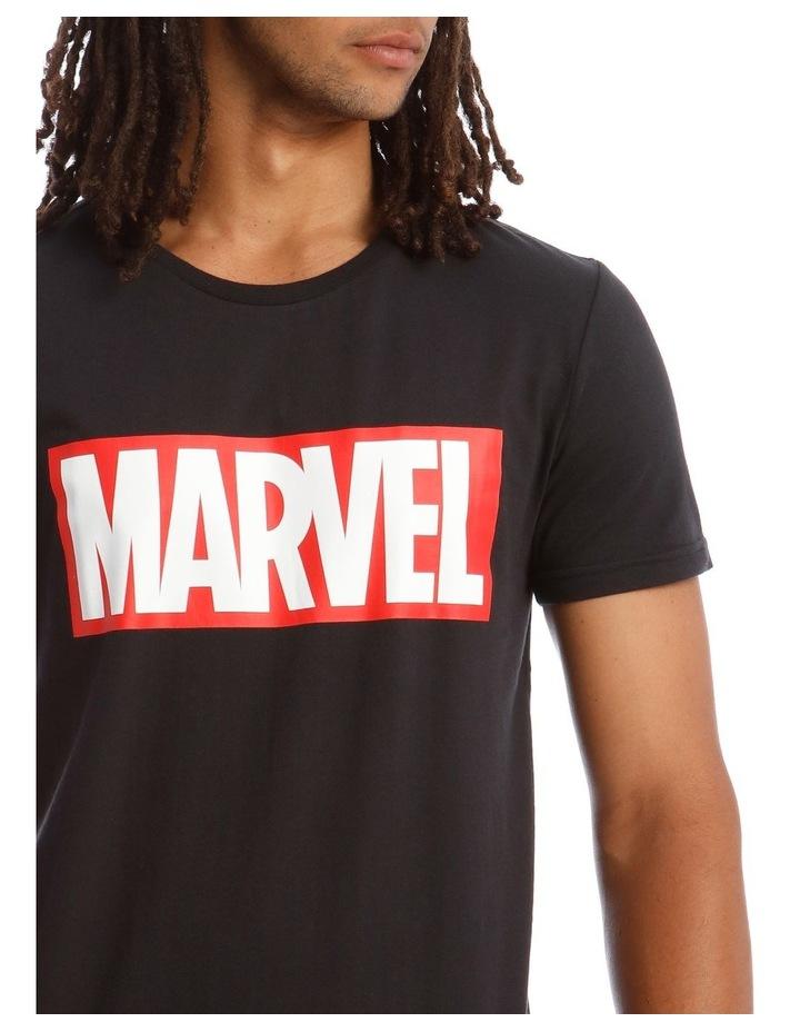 Marvel Red Brick Logo Tee image 4