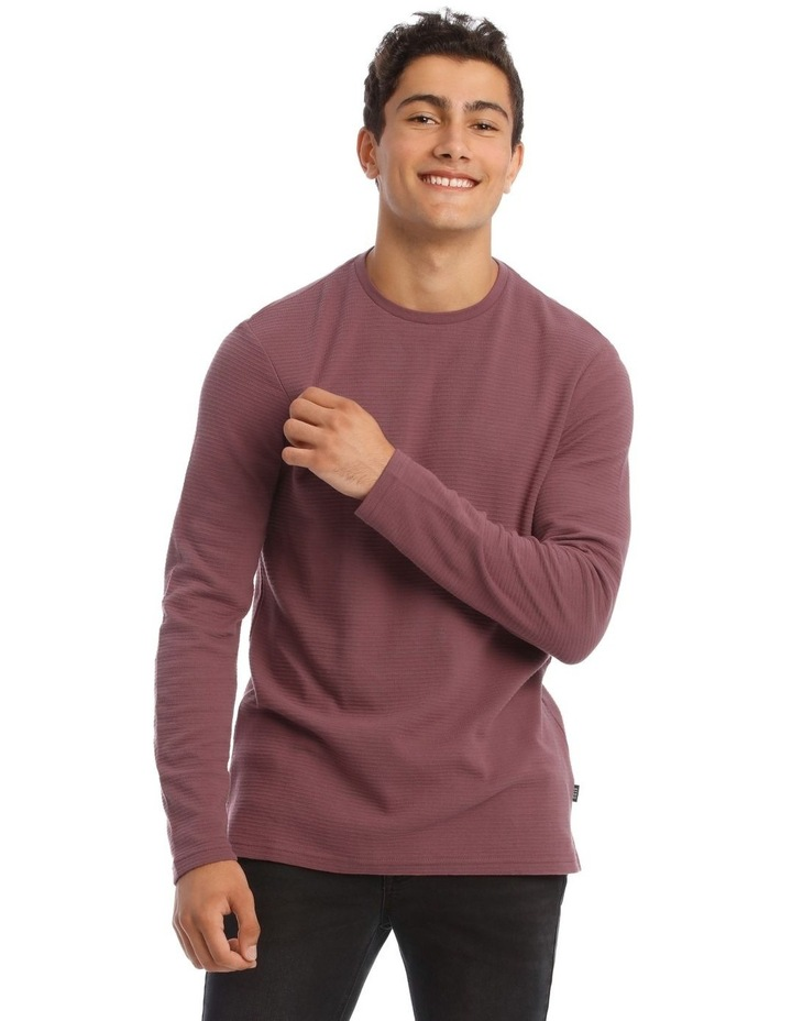 Logan Long-Sleeve Rib T-Shirt image 1