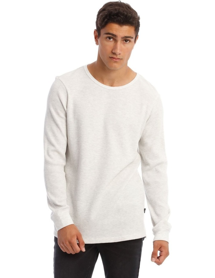 Oliver Long-Sleeve Waffle T-Shirt image 1