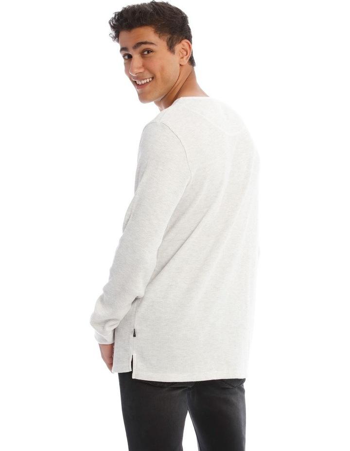 Oliver Long-Sleeve Waffle T-Shirt image 3