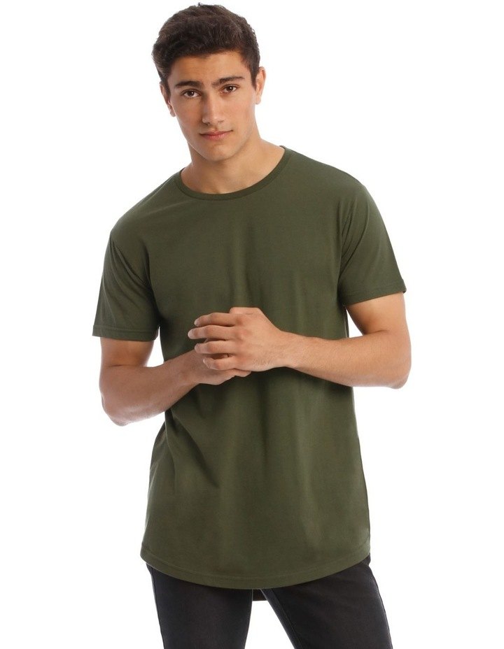 Hadspen T-Shirt With Curved Hem image 1
