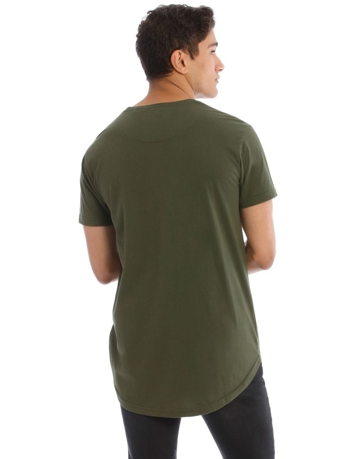 Hadspen T-Shirt With Curved Hem image 3
