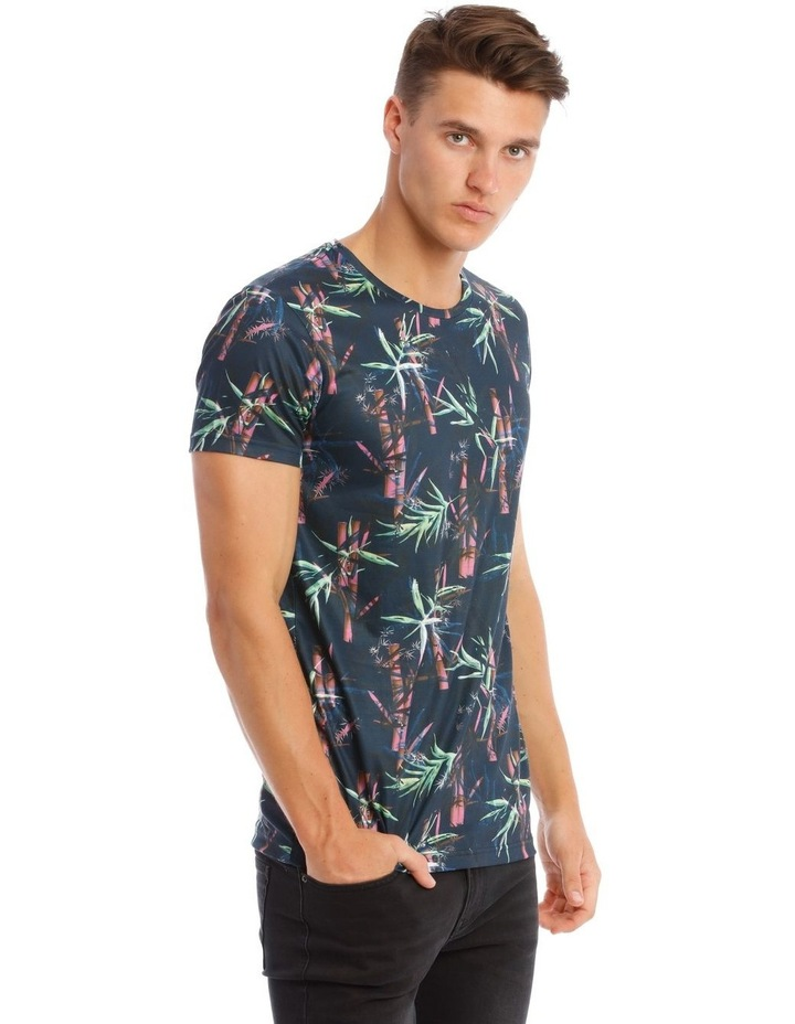 Lotus Sublimated Print T-Shirt image 2