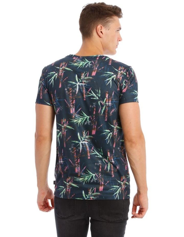 Lotus Sublimated Print T-Shirt image 3