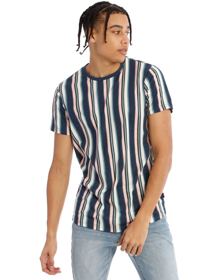 Celebration Stripe Short Sleeve Tee image 1