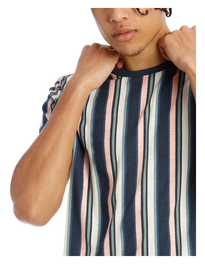 Celebration Stripe Short Sleeve Tee image 4