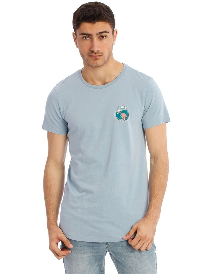 Be Cool Placement Print Short Sleeve Tee image 1