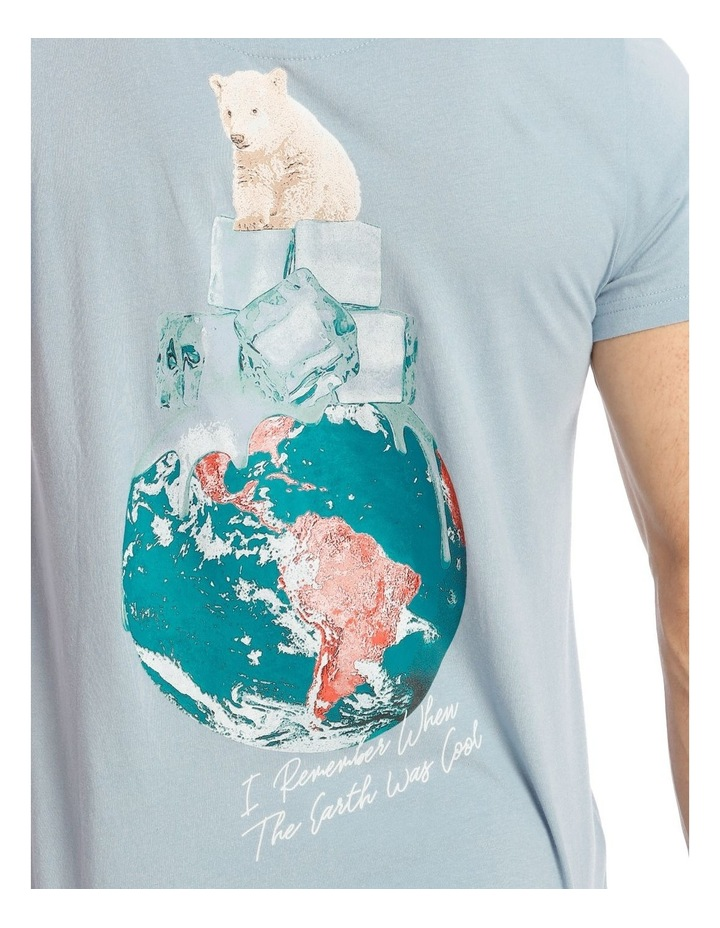 Be Cool Placement Print Short Sleeve Tee image 4
