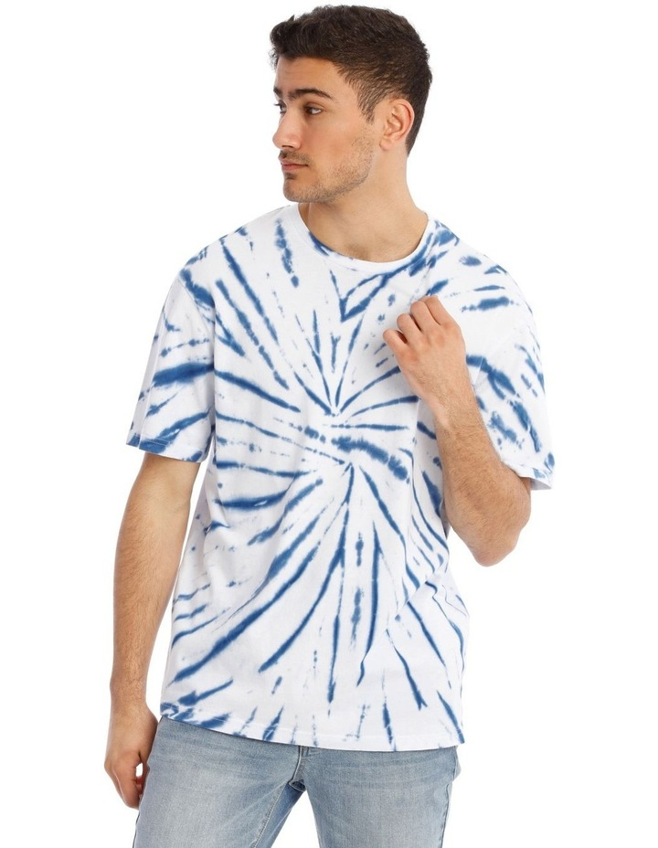 Tropic Tie Dye Short Sleeve Tee image 1