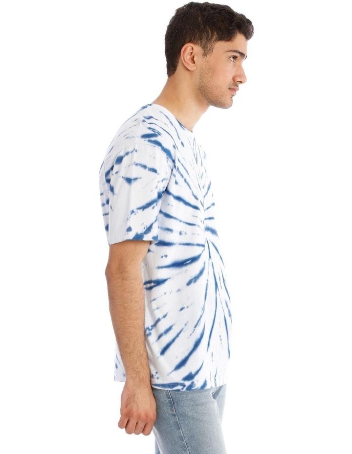 Tropic Tie Dye Short Sleeve Tee image 2