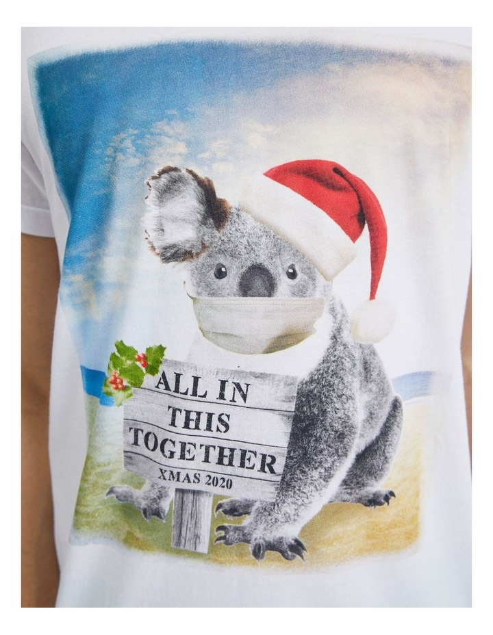 Aussie Xmas Placement Print Short Sleeve Tee image 4
