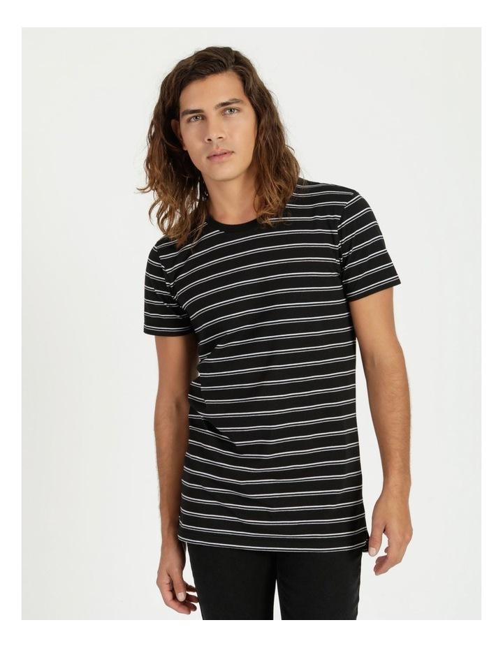 Basics Sully Stripe Tee Black image 1