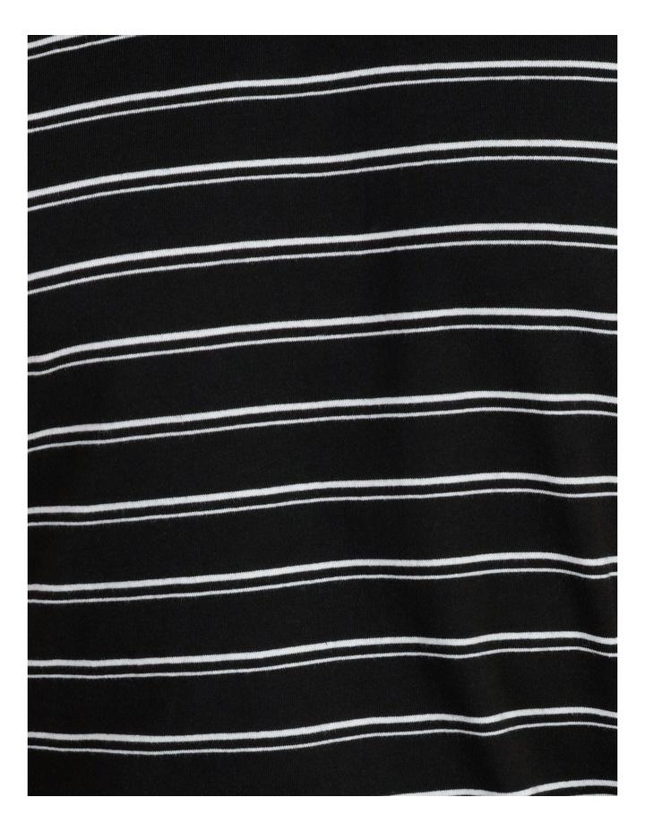 Basics Sully Stripe Tee Black image 6