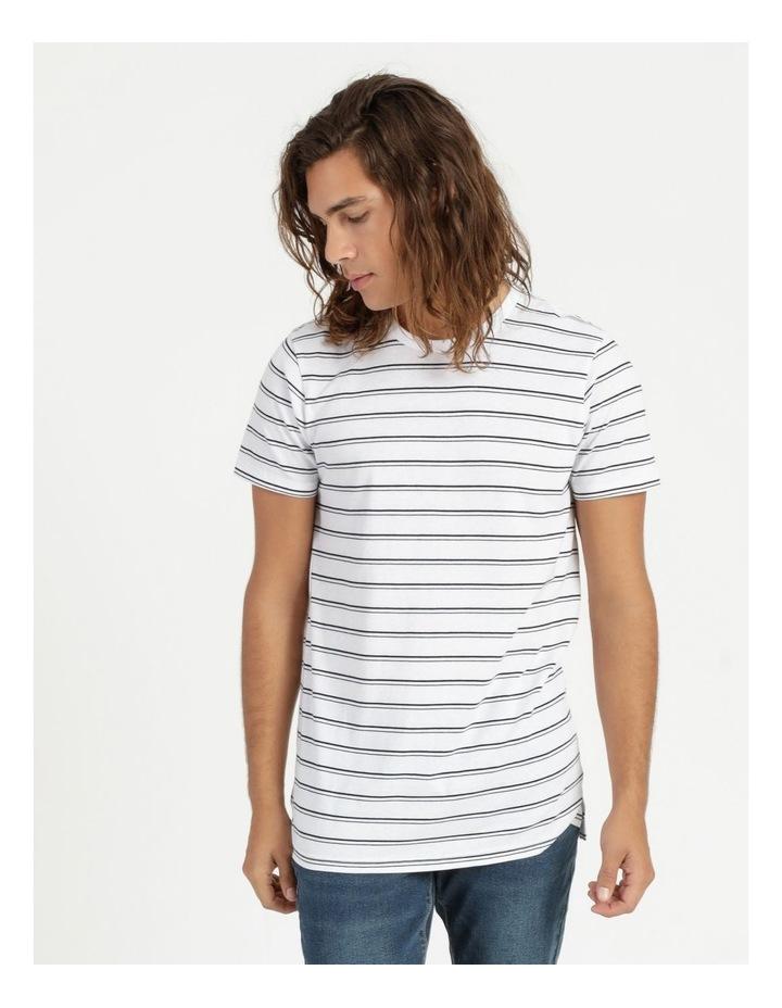 Basics Sully Stripe Tee White image 1