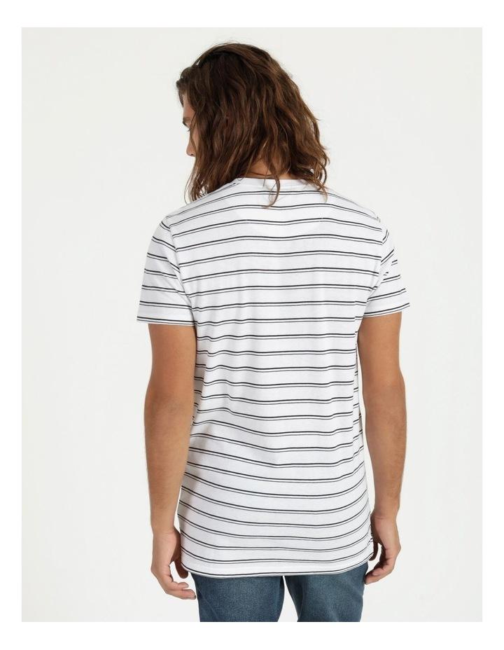 Basics Sully Stripe Tee White image 3