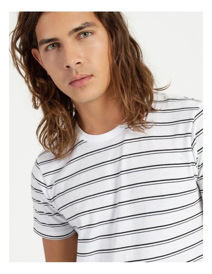 Basics Sully Stripe Tee White image 4