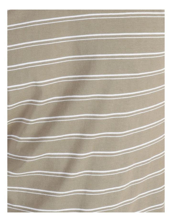 Basics Sully Stripe Tee Khaki image 5