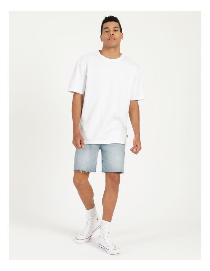 Hooley Heavy Pigment Short Sleeve Skater Tee White image 1