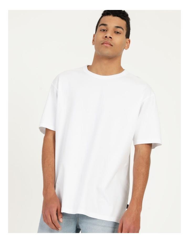 Hooley Heavy Pigment Short Sleeve Skater Tee White image 2