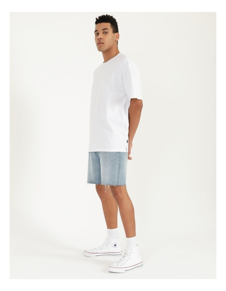 Hooley Heavy Pigment Short Sleeve Skater Tee White image 3