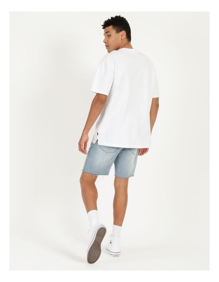 Hooley Heavy Pigment Short Sleeve Skater Tee White image 5