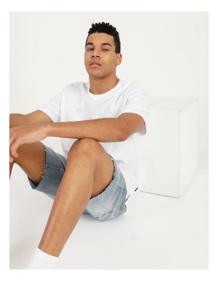 Hooley Heavy Pigment Short Sleeve Skater Tee White image 6