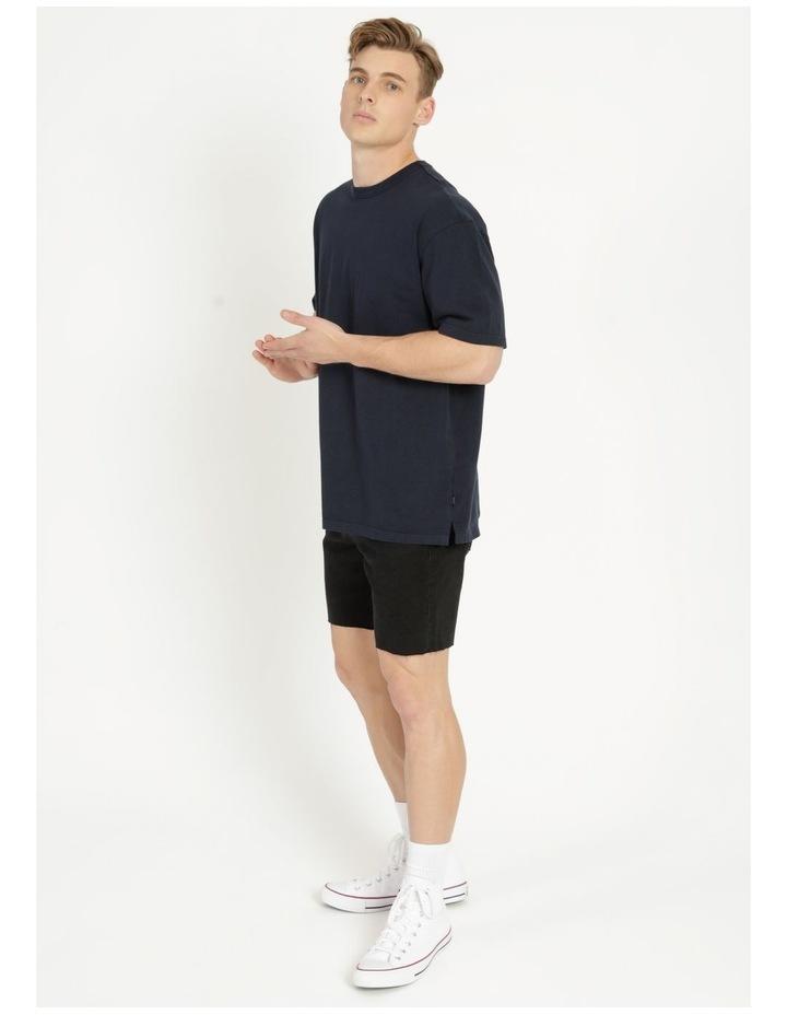 Hooley Heavy Pigment Short Sleeve Skater Tee Navy image 4
