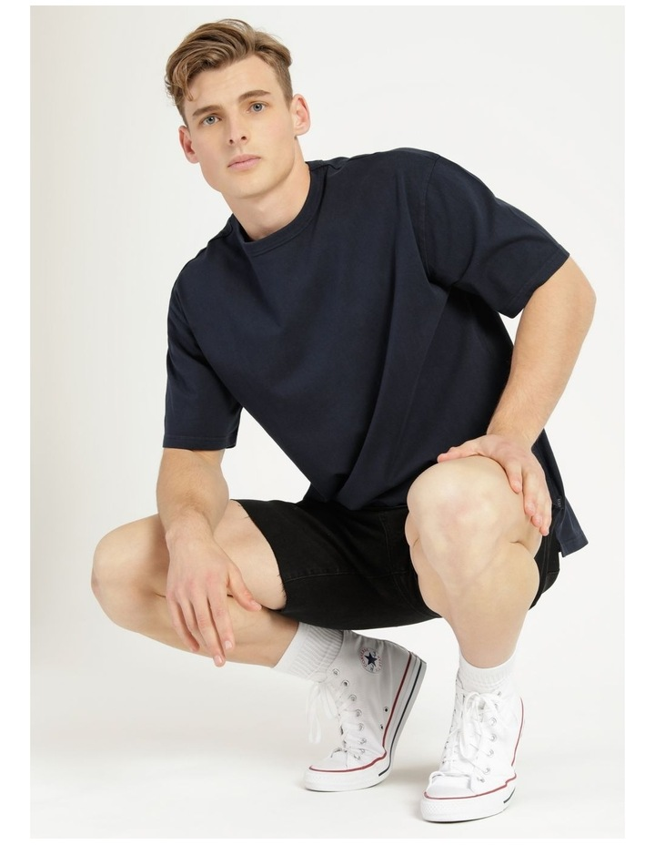 Hooley Heavy Pigment Short Sleeve Skater Tee Navy image 5