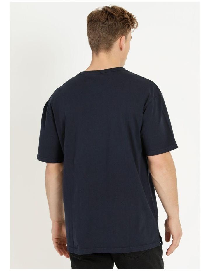 Hooley Heavy Pigment Short Sleeve Skater Tee Navy image 6