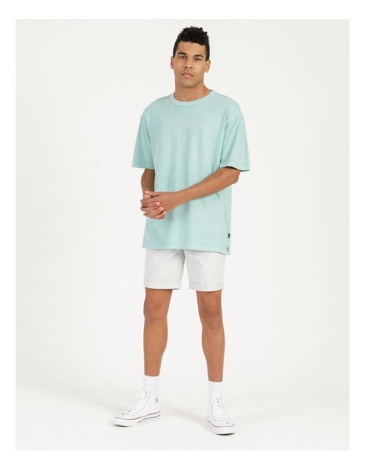 Hooley Heavy Pigment Short Sleeve Skater Tee Light Blue image 1