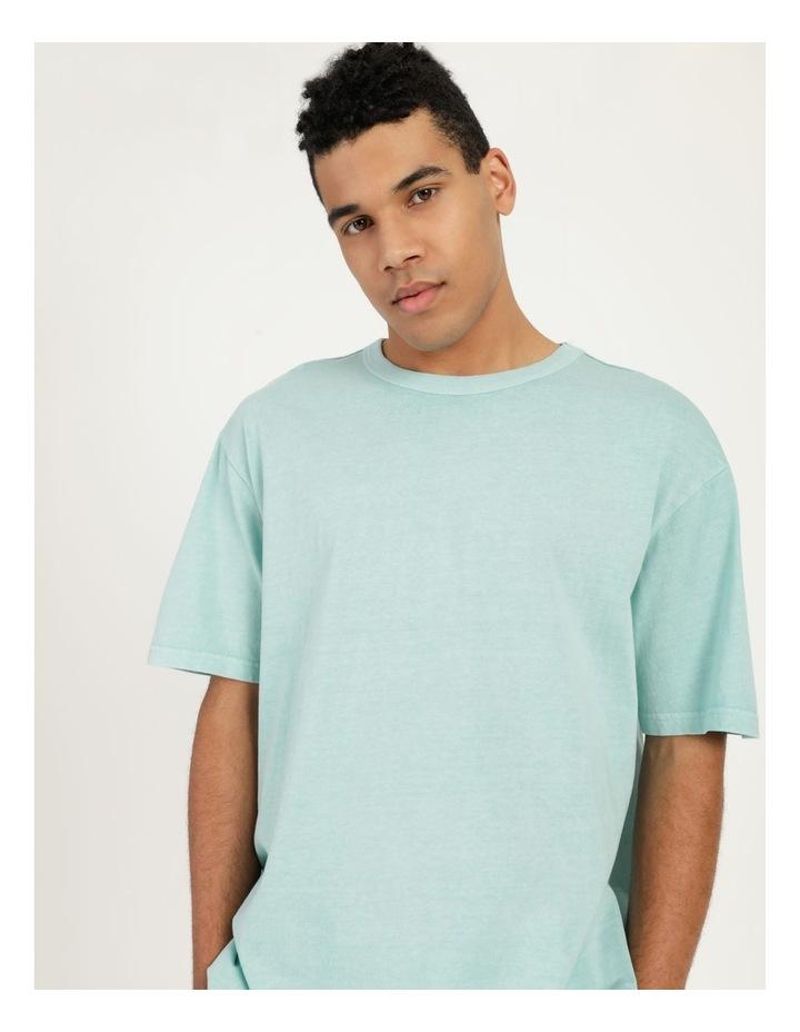Hooley Heavy Pigment Short Sleeve Skater Tee Light Blue image 2