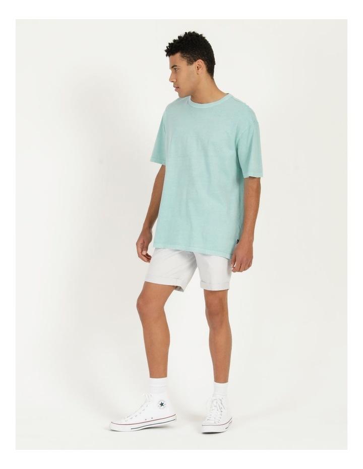 Hooley Heavy Pigment Short Sleeve Skater Tee Light Blue image 3
