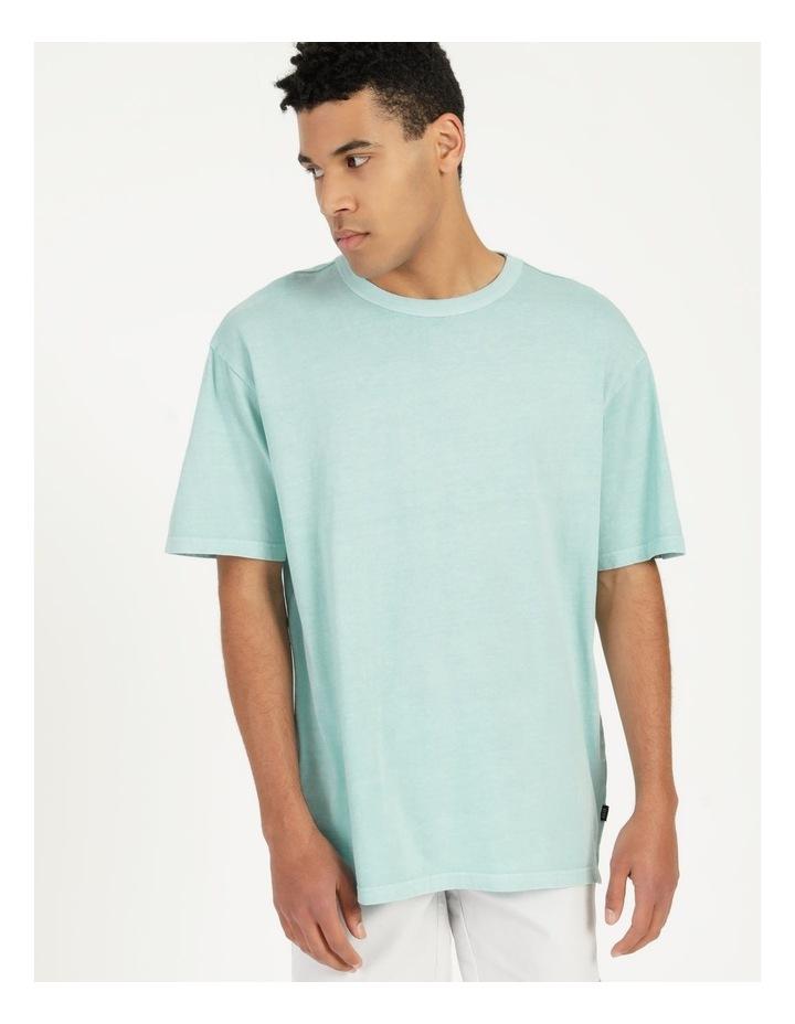 Hooley Heavy Pigment Short Sleeve Skater Tee Light Blue image 5