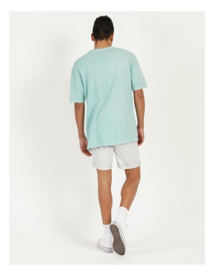 Hooley Heavy Pigment Short Sleeve Skater Tee Light Blue image 6