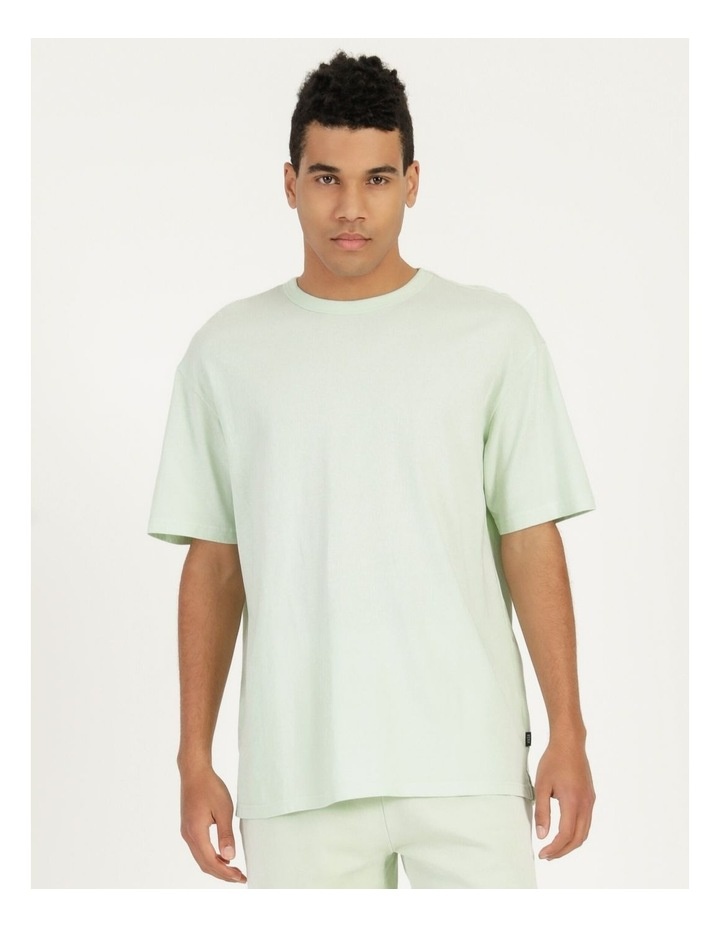 Hooley Heavy Pigment Short Sleeve Skater Tee Mint image 3