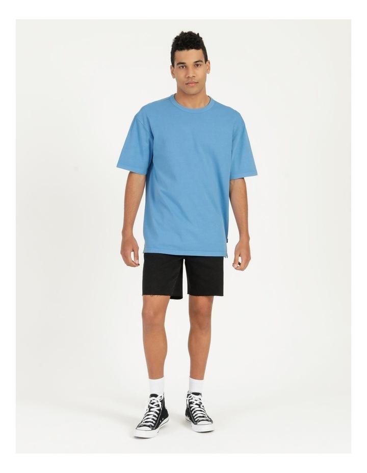 Hooley Heavy Pigment Short Sleeve Skater Tee Blue image 1